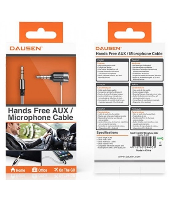 Hands Free Aux/Microphone Cable